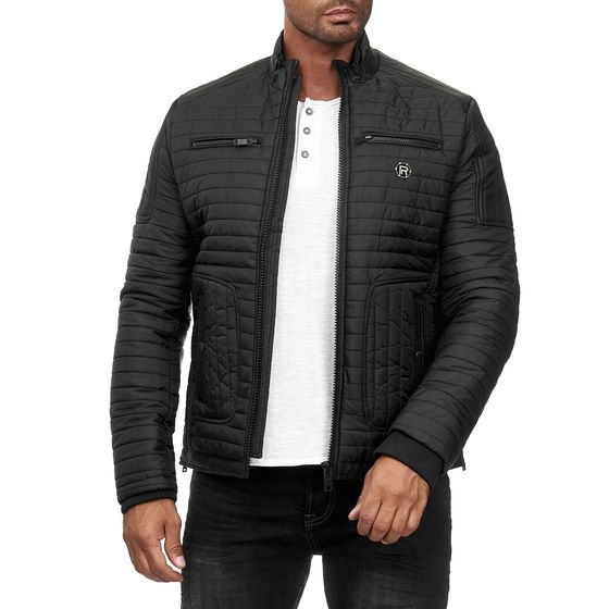 Red Bridge Men Jacket Quilted Jacket Winter Jacket Faux...