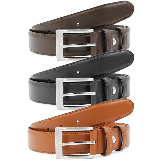 Red Bridge Mens Belt Real Leather Leather Belt RBC Premium