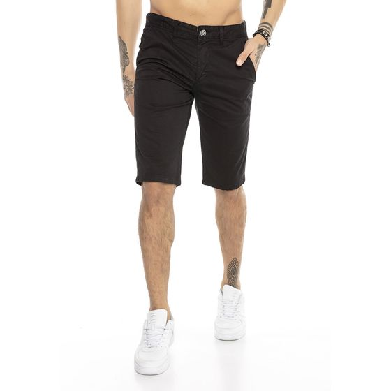 Red Bridge Herren Chino Shorts Kurze Hose Basic Clean