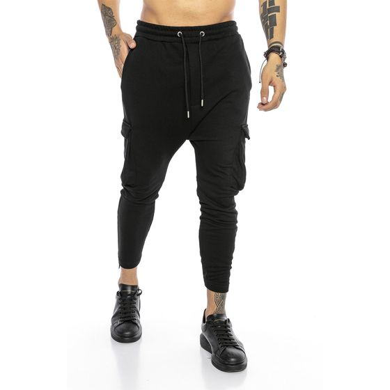 Red Bridge Herren Cargo Jogginghose Hose Sweat-Pants...
