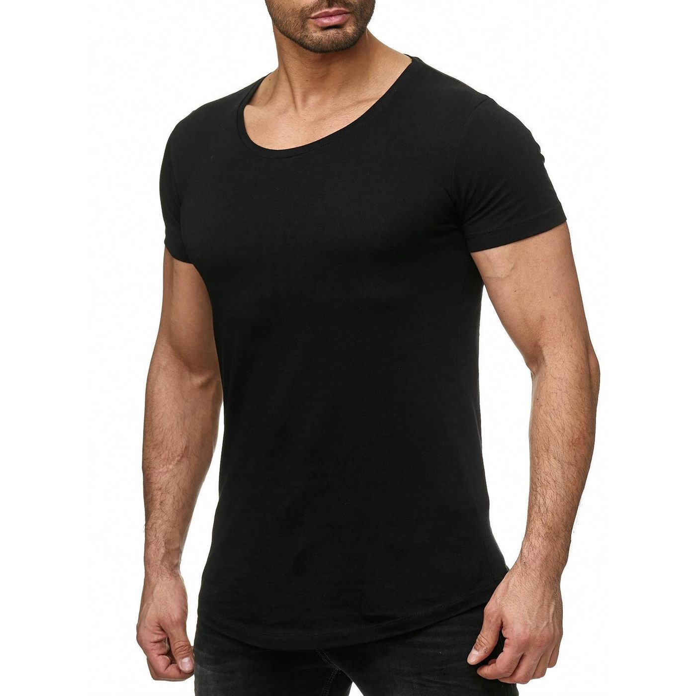 e4b17f6ead011e Red Bridge Men Basic Oversized T-Shirt white M1116-black - Redbridge ...