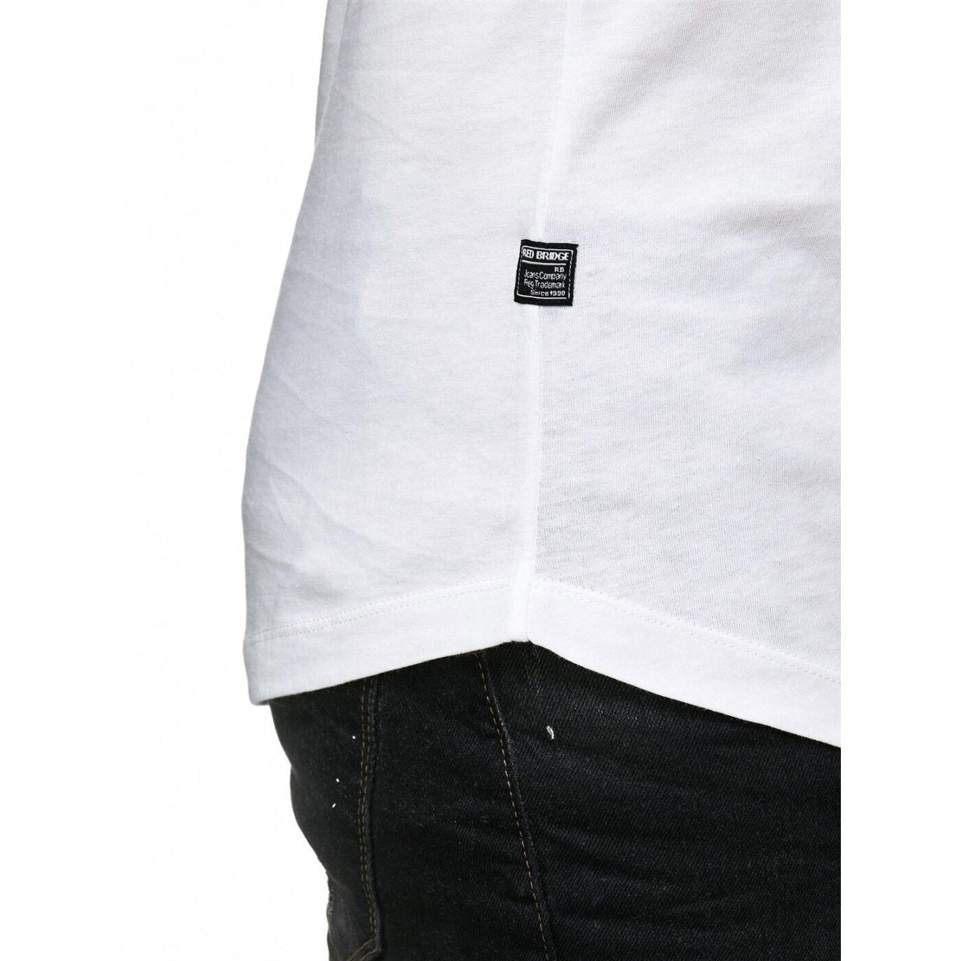red bridge herren basic oversized t shirt weiss m1116 white 16 99. Black Bedroom Furniture Sets. Home Design Ideas