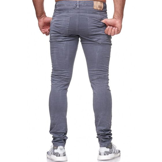 Red Bridge Herren Straight Cut Jeans Röhrenjeans Hose grau
