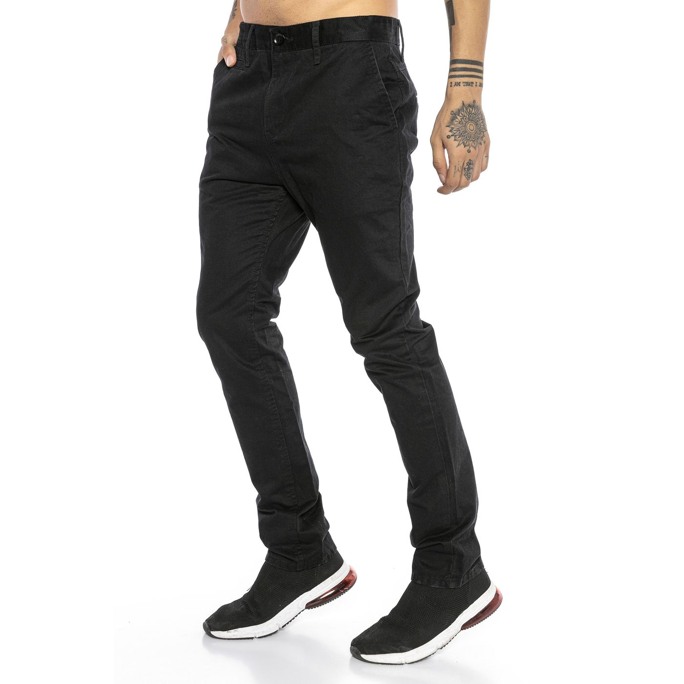 acf684d8df Red Bridge Men BJC Straight Leg Jeans Chino Pant RB-177-black ...