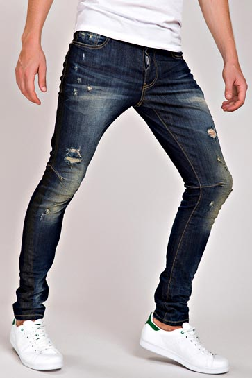 Redbridge Herren Destroyed Used Look Jeans Hose